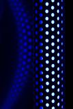 Light tube. Abstract halogen light tube and glowing reflection Royalty Free Stock Photography