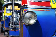 Detail of tuk tuk Royalty Free Stock Photography