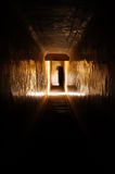 Light at a tunnel in Amber Fort , Jaipur Stock Photography