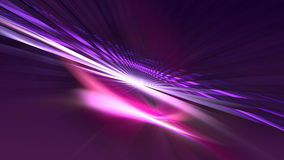 Light Tunnel. (computer generated image Royalty Free Stock Photo