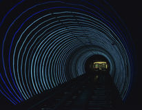 Light Tunnel Royalty Free Stock Photography