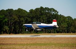 Light turboprop training plane Stock Photos