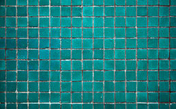 Light turquoise tile Royalty Free Stock Photography