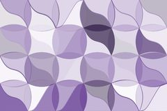 Ultra violet polygonal abstract background. Low poly crystal pattern. Design with triangle shapes. Royalty Free Stock Photography
