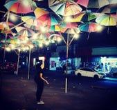 Light umbrella royalty free stock photography