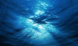 Light underwater Stock Photography