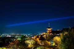 Light-up de Kyoto Fotografia de Stock Royalty Free
