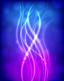 Light-Up Strands Magenta Royalty Free Stock Image