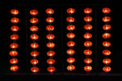 Free Light Up The Red Lanterns Lined Up Royalty Free Stock Images - 62725529
