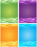Light-Up Wave Royalty Free Stock Photo