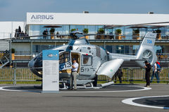 A light utility helicopter Eurocopter EC135 T2 Royalty Free Stock Photography