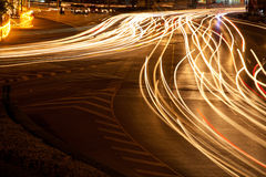 Light vehicle traffic. Royalty Free Stock Photos
