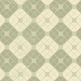 Light vintage squared seamless pattern, vector geometric abstrac Royalty Free Stock Photo