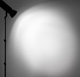 Light on the wall. Stock Photography