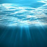 Light through the water Royalty Free Stock Image