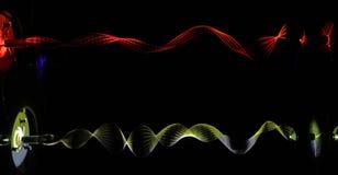Light waves Royalty Free Stock Photo