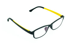Light weight eyeglasses on white Stock Image
