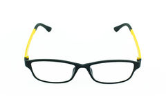 Light weight eyeglasses on white Stock Photos