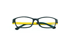 Light weight eyeglasses on white Royalty Free Stock Photography