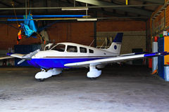 Light weight single engine airplane. Stock Photography