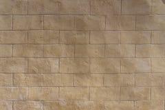 Light white brown old aging sand stone tile texture as backgroun Stock Photos