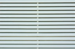Light white plastic louver of mobile air-conditioner Stock Images