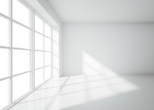 Light white room Stock Photography