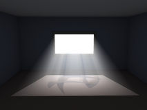 Light through window Royalty Free Stock Photography