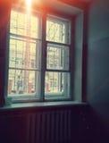 Light through the window Stock Image