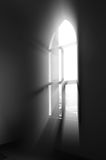 Light windows. Through the window into the holy light Royalty Free Stock Photo