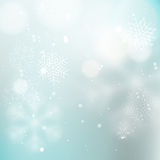 Light winter background Stock Image