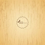 Light wood background. Stock Image