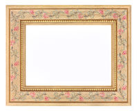 Light Wood Picture Frame Royalty Free Stock Image