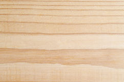 Light Wood with Striped Grain. A light pine wood background with a striped grain providing natural section breaks.  Slightly rough texture and imperfections at Stock Photography