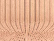 Light wood walls and floor Stock Photo