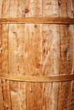 Light wooden barrel background Stock Photos
