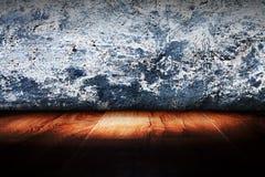 Light on wooden. Floor in empty room Royalty Free Stock Photos