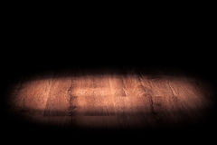 Light on wooden Royalty Free Stock Photo