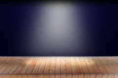 Light on wooden Stock Photography