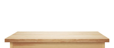 Light wooden tabletop Royalty Free Stock Photo