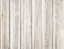 Light wooden texture with vertical planks or table Royalty Free Stock Photos