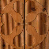Light wooden wall detail board closeup Royalty Free Stock Image