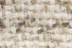 Light wool fabric texture Stock Images