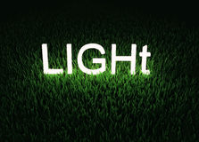 Light word concept Royalty Free Stock Image