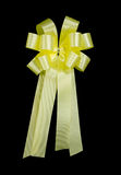 Light yellow bow Royalty Free Stock Image