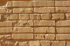 Light yellow brick wall. Yellow brick road or wall. Dreamland royalty free stock photography