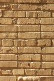 Light yellow brick wall. Yellow brick road or wall. Dreamland royalty free stock image