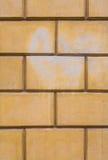 Light Yellow Bricks Background Royalty Free Stock Image