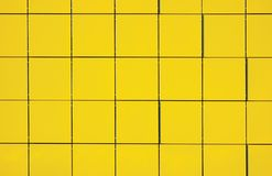 Light Yellow Metallic Facade Panel Background Stock Image