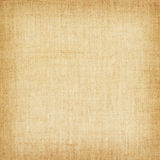 Light yellow natural linen texture for the background Royalty Free Stock Photos